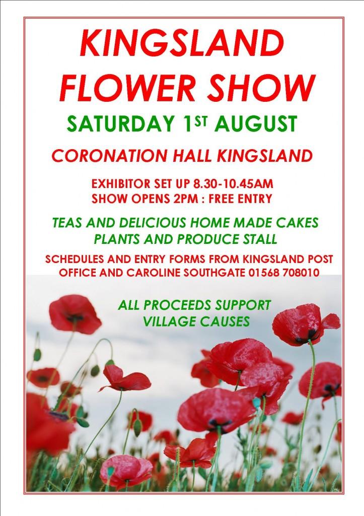 Flower Show Poster 2015
