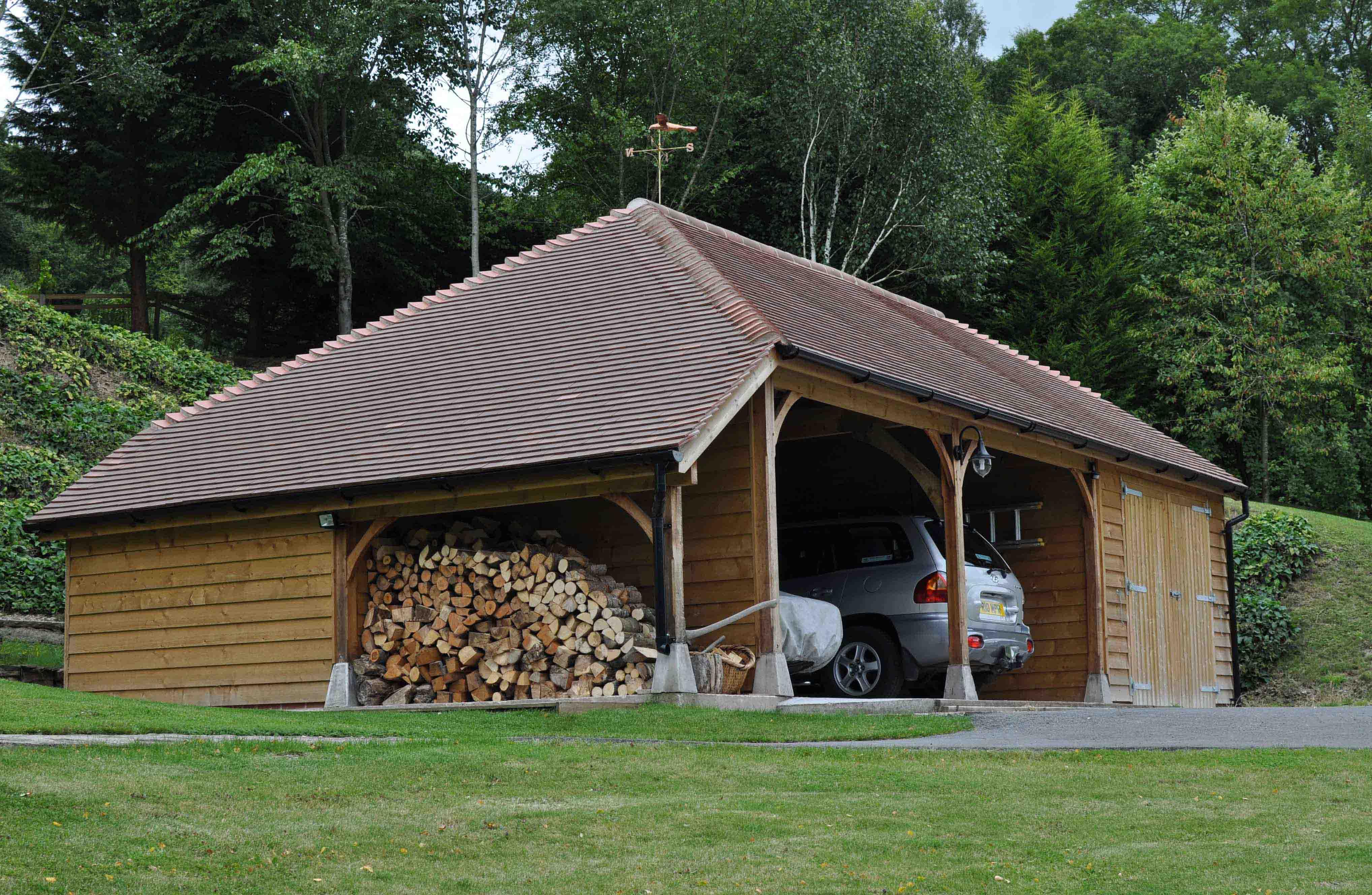 Local trades services kingsland life for Car port garage