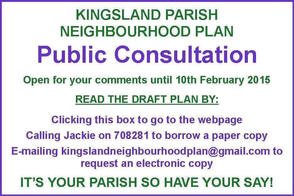 Slideshow KNP Consultation Notice