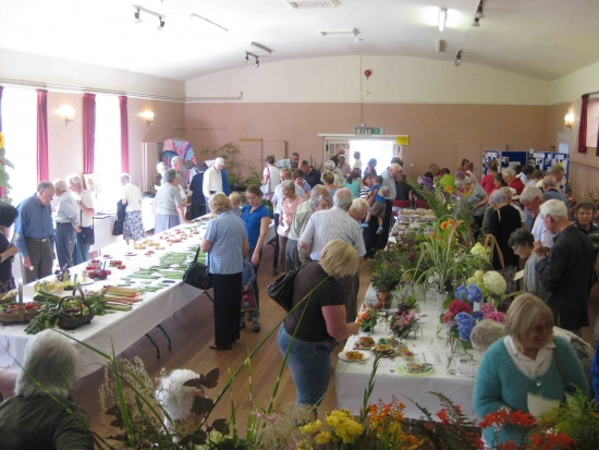 Kingsland Flower Show: The Kingsland Flower Show is Open