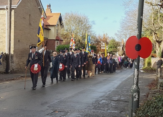 Remembrance Day Parade 2018  Photo © Veronika Lavey