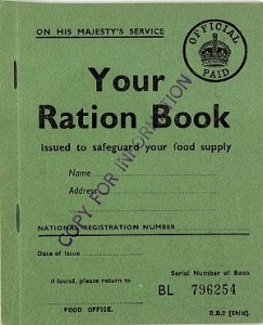 Kingsland History_Memories_ Sample_UK_Childs_Ration_Book_WW2