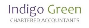 Trades Indigo Green Logo