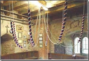 Bellringers bell ropes