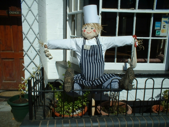 Scarecrow Contest - September 2009: A Butchered Scarecrow  © A. Roberts