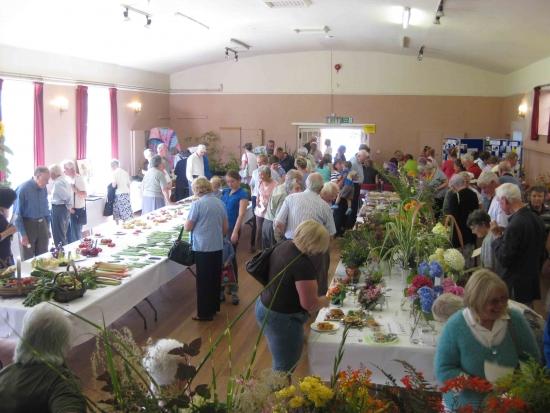 Kingsland Flower Show: The Kingsland Flower Show is Open