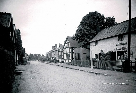 14 Old Post Office (now Greycoat) then Longford  on right, Vartry cottage on left