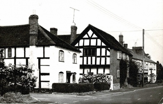 18 The current Post Office, Angel House then The Angel Inn; postmarked 1974