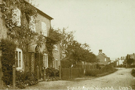 26 Ivy House and Ivy cottage next to what is now the Millennium Green