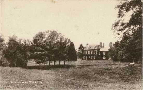 32 Kingsland Rectory; postmarked 1926