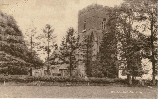 37 St Michael and All Angels church; handwritten date 1923