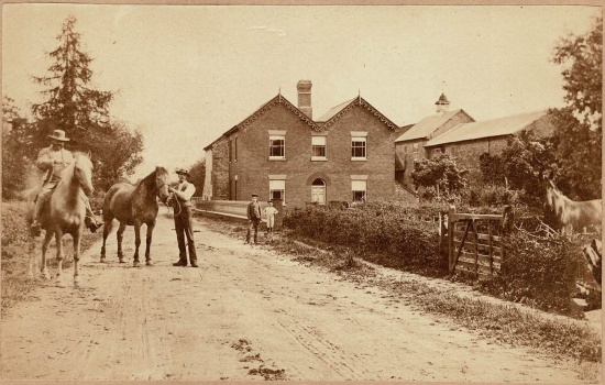 Waterloo Mill ; courtesy of the Markham family