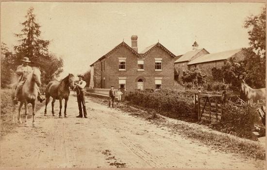 Waterloo Mill; courtesy of the Markham family