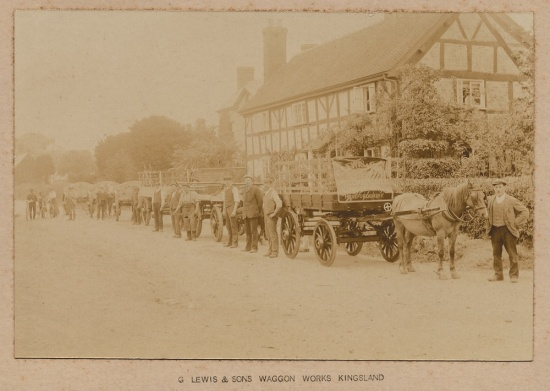 The front of the Jubilee Wagon Works (now the Garth); courtesy of Mary Archer