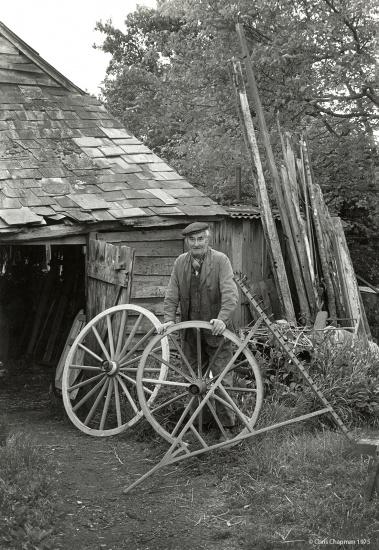 Harold Gough the wheelwright © Chris Chapman