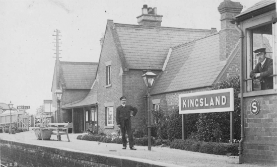Kingsland Station ; Courtesy of M Sampson